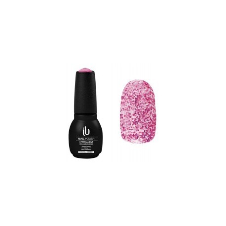 Vernis semi permanent pailletté Diam star rose 14ml