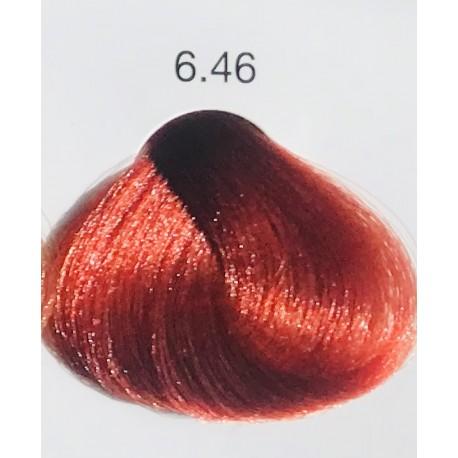Coloration sans ammoniaque Luméa 6.46