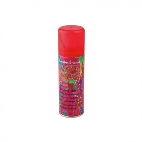 spray couloré fluo orange 125ml