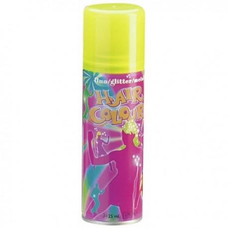 spray couloré fluo jaune 125ml
