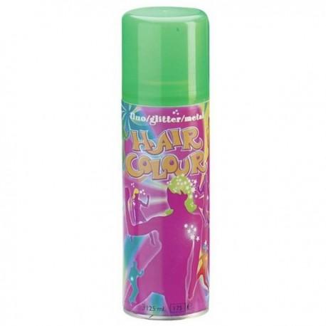 spray couloré fluo vert 125ml