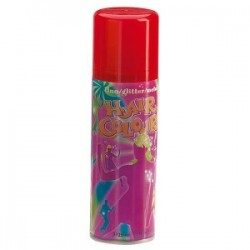 spray couloré fluo rouge 125ml