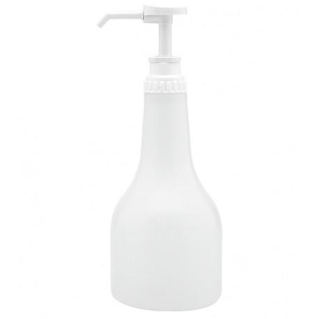 Bouteille à shampoing vide 500 ml avec pompe