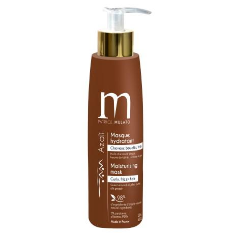 Masque hydratant cheveux bouclés Azali 200ml