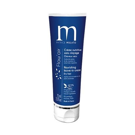 Crème nutritive sans rinçage cheveux secs 75ml