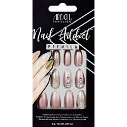 FAUX ONGLES METALLIC LILAC PEARL