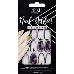 FAUX ONGLES PURPLE OMBRE