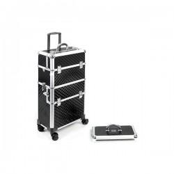 Trolley valise noire 42x23x79