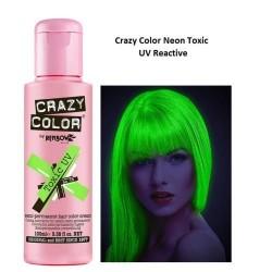 Crazy color Néon UV Vert Toxic