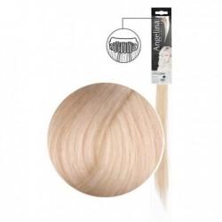 Extension 1 clip cheveux naturels blond platine