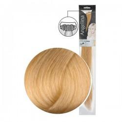 Extension 2 clips cheveux naturels blond très clair doré