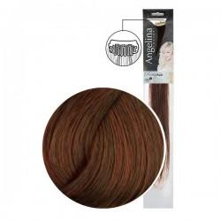 Extension 2 clips cheveux naturels blond foncé