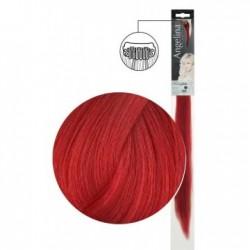 Extension 1 clip cheveux naturels rouge