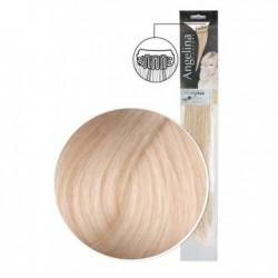 Extension 2 clips cheveux naturels blond platine