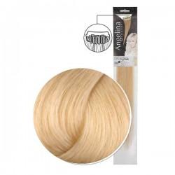 Extension 2 clips cheveux naturels blond platine naturel doré