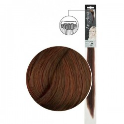 Extension 1 clip cheveux naturels blond foncé