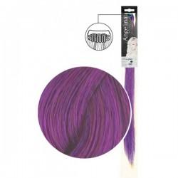 Extension 1 clip cheveux naturels violet