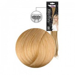Extension 3 clips cheveux naturels blond très très clair doré