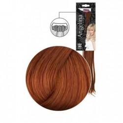 Extension 3 clips cheveux naturels chocolat