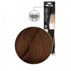Extension 3 clips cheveux naturels blond foncé