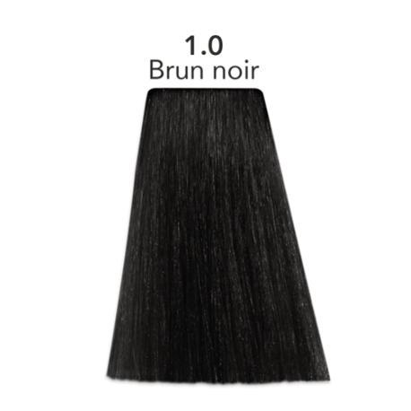 Coloration naturelle Brun-noir Color one