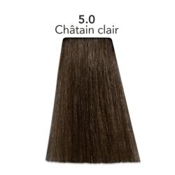 Coloration naturelle chatain clair Color one
