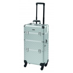 Trolley beauty case 4 roulettes
