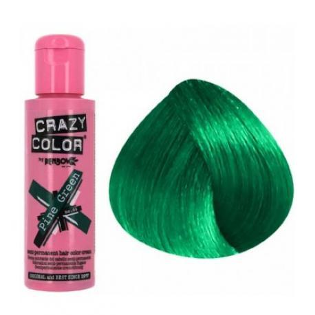 Crazy color pine green