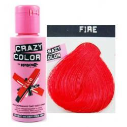 Crazy color fire