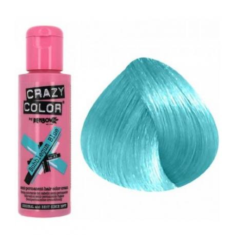 Crazy color bubblegum blue