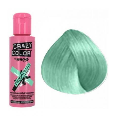 Crazy color peppermint