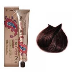 Life color 5.62 chatain clair rouge irisé
