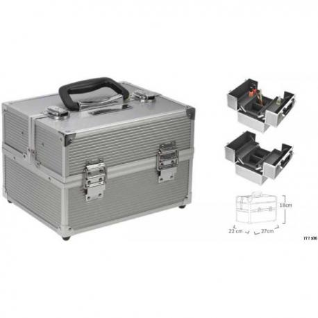 Valise Maky silver 270x220x180MM