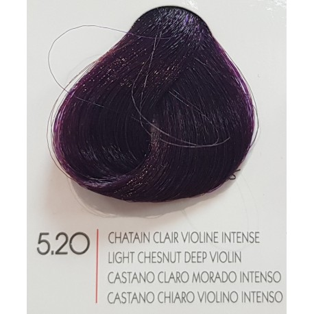 Coloration Urban Keratine 5.20 chatain clair violine intense