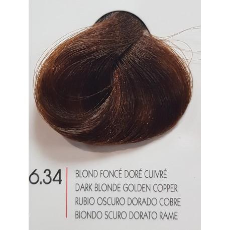 Coloration Urban Kératine 6.34 blond foncé doré cuivré