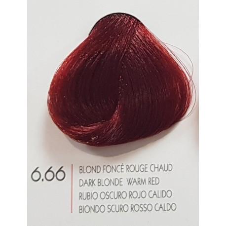 Coloration Urban Kératin 6.66 blond foncé rouge intense