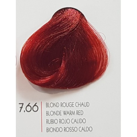 Coloration Urban Kératine 7.66 blond rouge profond