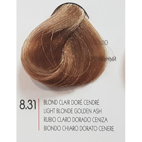 Coloration Urban Kératine 8.31 blond clair doré cendré