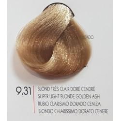 Coloration Urban Kératine 9.31 blond très clair doré cendré