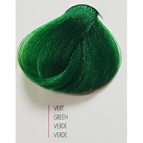 Coloration Urban Kératine chromatique / booster vert