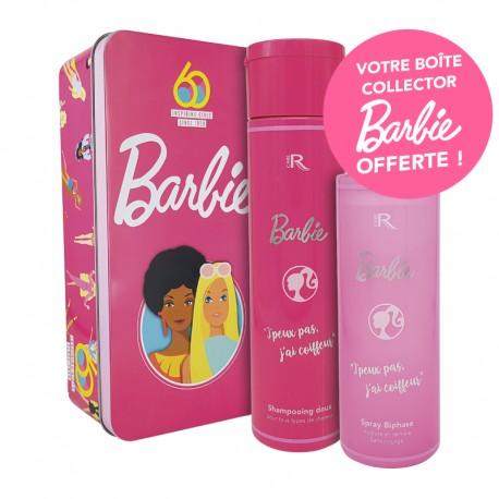 COFFRET BARBIE SHP 250ML + SPRAY BIPHASE 250ML